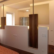 Raumteiler Schlafzimmer - Bad