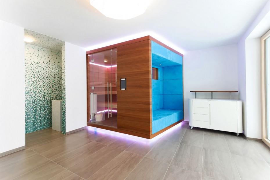 Wellnessbereich Sauna und Relaxzone