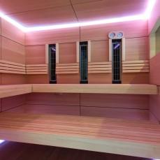 Wellnessbereich Sauna Innenbereich