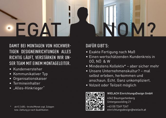 News wielach for Interior designer gesucht